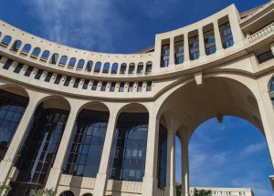 Place de Thessalie in Montpellier, France