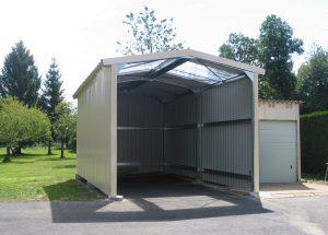hangar en kit camping car
